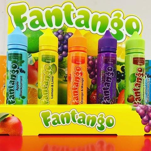Fantango 50ml Shortfills with free 10ml nic shot