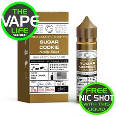 Glas Basix Sugar Cookie 50ml +10ml Nic Shot Free