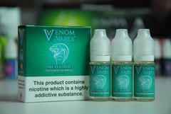 Menthol Venom Vapes 3 x 10ml 80/20 E-Liquid
