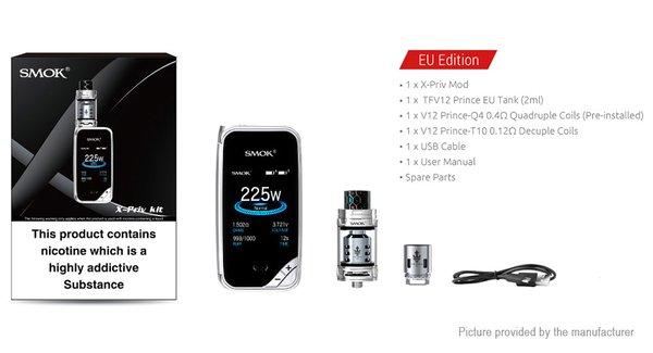 Smok X-Priv With 2 x 18650 Batteries