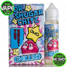 Dr Shugar Chitz The Razz Chilled 50ml + 10ml Nic Shot Free