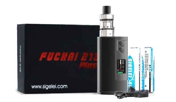 Sigelei Fuchai 213 Plus With 2x 18650's
