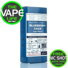 Glas Basix Blueberry Cake 50ml + 10ml Nic Shot Free