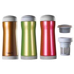 Deluxe Fusion Vacuum Mug 12 fl. oz. & Tea Basket