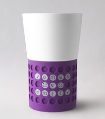 Boii Messenger Mug: Purple