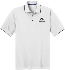 Men's Mustang Ranch Pique Polo Shirt: