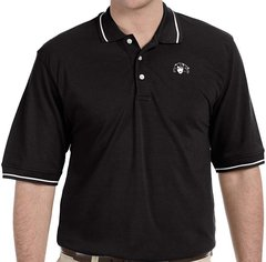 Men's Mustang Ranch Tipped Polo