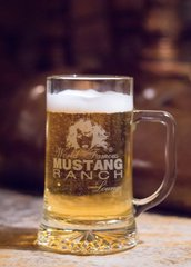 Mustang Ranch Football Mugs