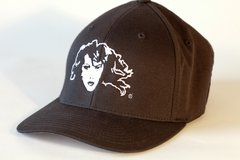 Mustang Ranch Logo Lady Flex Fit Ball Cap