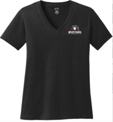Mustang Ranch Ladies V-neck T-shirt
