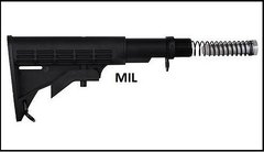 .223 Carbine Mili Spec Stock