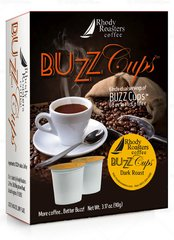 BuzzCups Gourmet Coffee - Box of 6 cups(2 Pack)