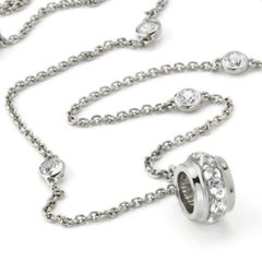 Circle of Love Collection- Sterling Silver Adjustable Length Chain