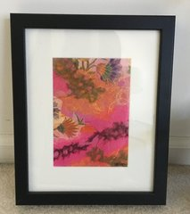 Original Framed Collage by Sylvia Taylor