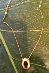Evolution 1 Collection- Pendant in Gold Plate