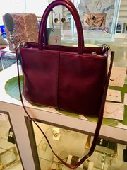Mulberry Textured Leather Handbag by Hobo