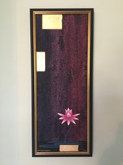 """Ascending Lotus"" Painting-Limited Edition Giclee by Honshin"