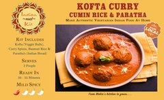 Kofta Curry, Rice & Paratha - 2 Person