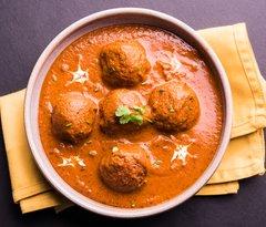 Kofta Curry, Rice & Paratha - 4 Person