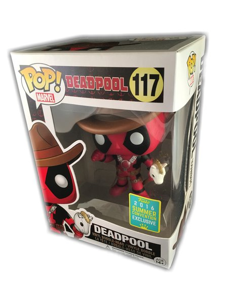 funko pop marvel comics cowboy deadpool 2016 sdcc exclusive