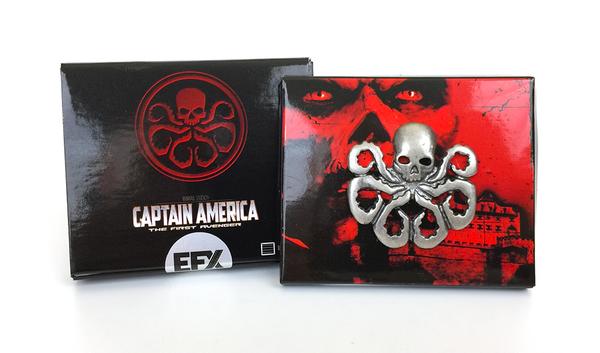 Captain America The First Avenger Hydra Logo Lapel Pin