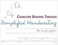 Character Building Through Simplified Handwriting teacher's manual