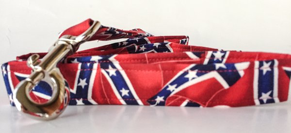 Dixie Flag Dog Collar