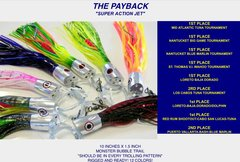 QTY 3 PAYBACK SUPER ACTION JETS