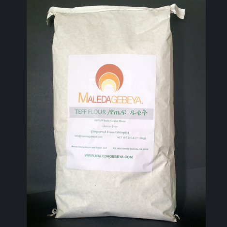 Teff flour 25 lb