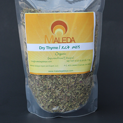 Dry Thyme Leaves [TOSIGN] 4 Oz.