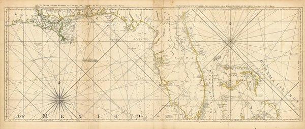 The Coast of West Florida and Louisiana.
