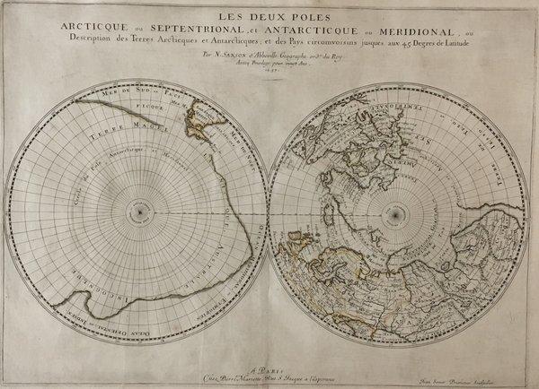 Les Deux Poles Arctique ou Septentrional et Antartique ou Meridional.