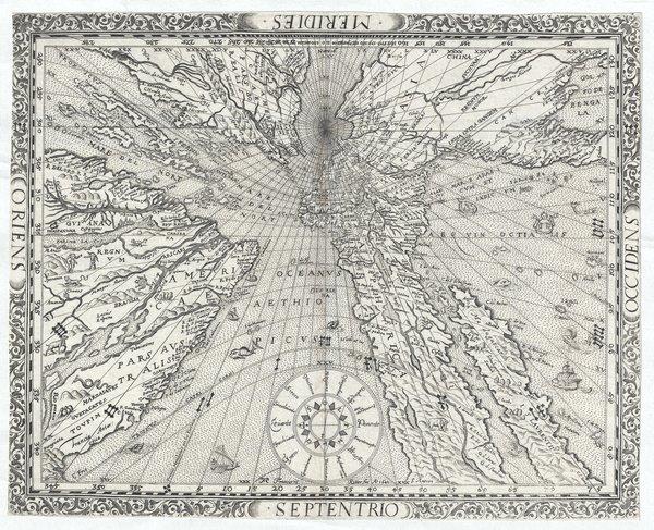 Ritter's Sundial Map