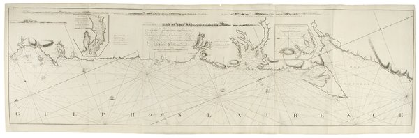 A Chart of the West Coast of Newfoundland, Surveyed by Order of Commodore Pallisser, Governor of Newfoundland and Labradore &c.&c.