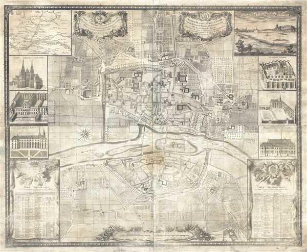 Nouveau Plan de la Ville d'Angers...