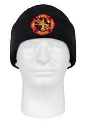 Deluxe Fire Department Embroidered Watch Cap