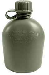 G.I. 1 Qt. Plastic Canteen - Colour Choice