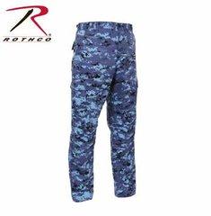 Sky Blue Digital BDU Pants
