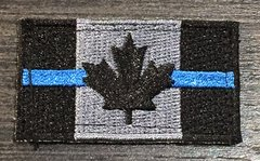 Canada Flag Patch - Thin Blue Line