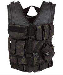 MSP-06 Entry Assault Vest Black Multicam