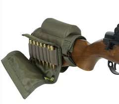 Buttstock Cheek Piece With Ammo Carrier