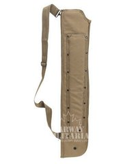 Shotgun Scabbard with Attached Machete Sheath - Colour Choice
