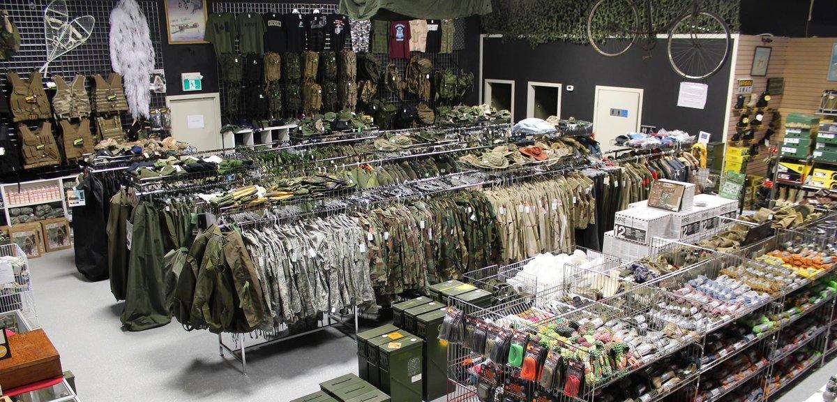 winnipeg army surplus