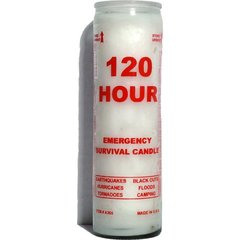 120 Hour Emergency Survival Candle