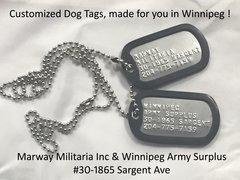 Custom Made Dog Tags