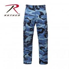 Sky Blue Camo BDU Pants