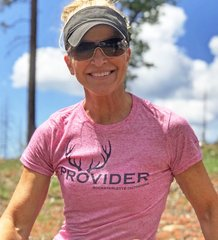 PROVIDER™ T shirt, Heathered Fitted Crewneck, Pink