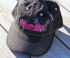 Distressed Rockstarlette Bowhunting Logo Hats, Variety of Color Options