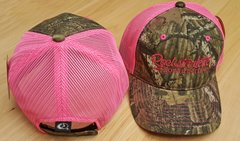 SALE $12 OFF Hot Pink Mesh Back Mossy Oak Camo Rockstarlette Bowhunting Hat