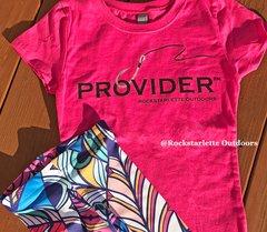 Youth Fishing PROVIDER™ T shirt, NEW! Girls Sizing, Princess T
